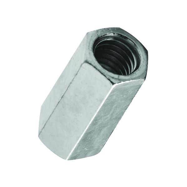 Picture of Stanley Hardware 4003 Series 182675 Coupling Nut, UNC Thread, 5/16-18 in Thread, Steel, Zinc