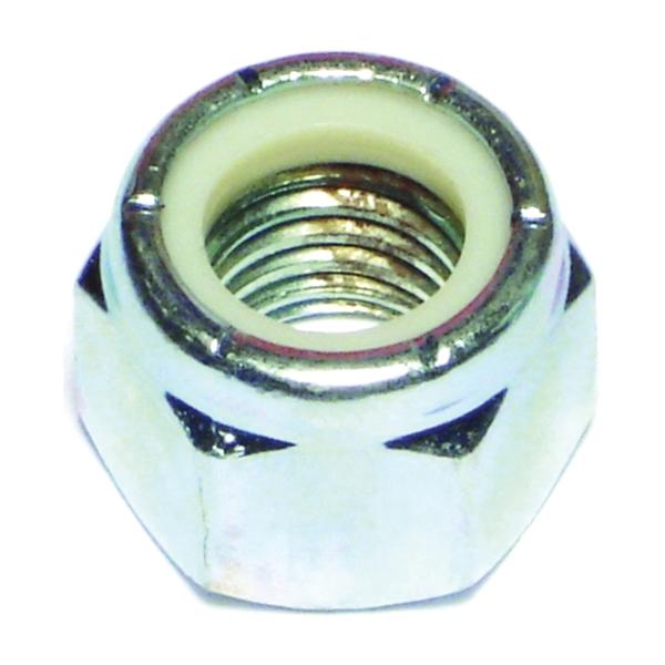 Picture of MIDWEST FASTENER 03655 Hex Locknut, Coarse Thread, 5/8-11 in Thread, Nylon, Zinc