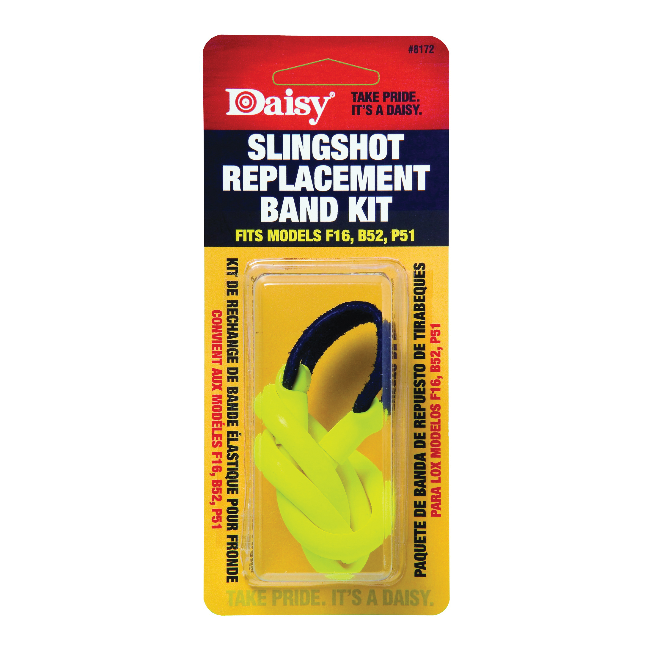 Picture of Daisy 8172 Slingshot Band, For: F16, B52 and P51 Model Slingshot