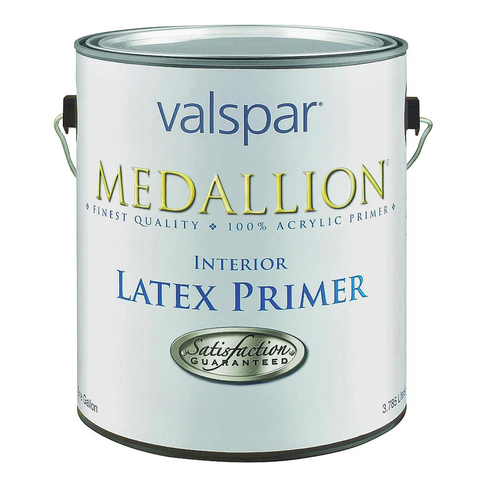 Picture of Valspar Medallion 190 Interior Latex Primer, White, 1 gal