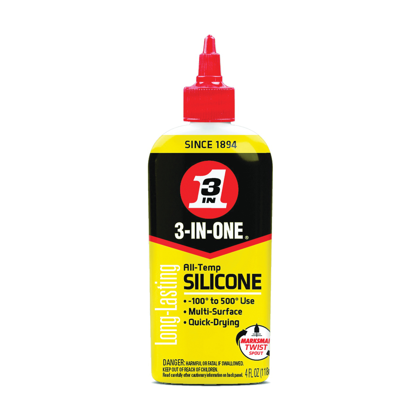 Picture of 3-IN-ONE 120008 Drip Oil, 4 oz Package, Bottle, Liquid, Mild
