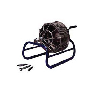 Picture of ELECTRIC EEL KK-1/2IC50 Drain Cleaner, 1/2 in Dia Cable, 50 ft L Cable