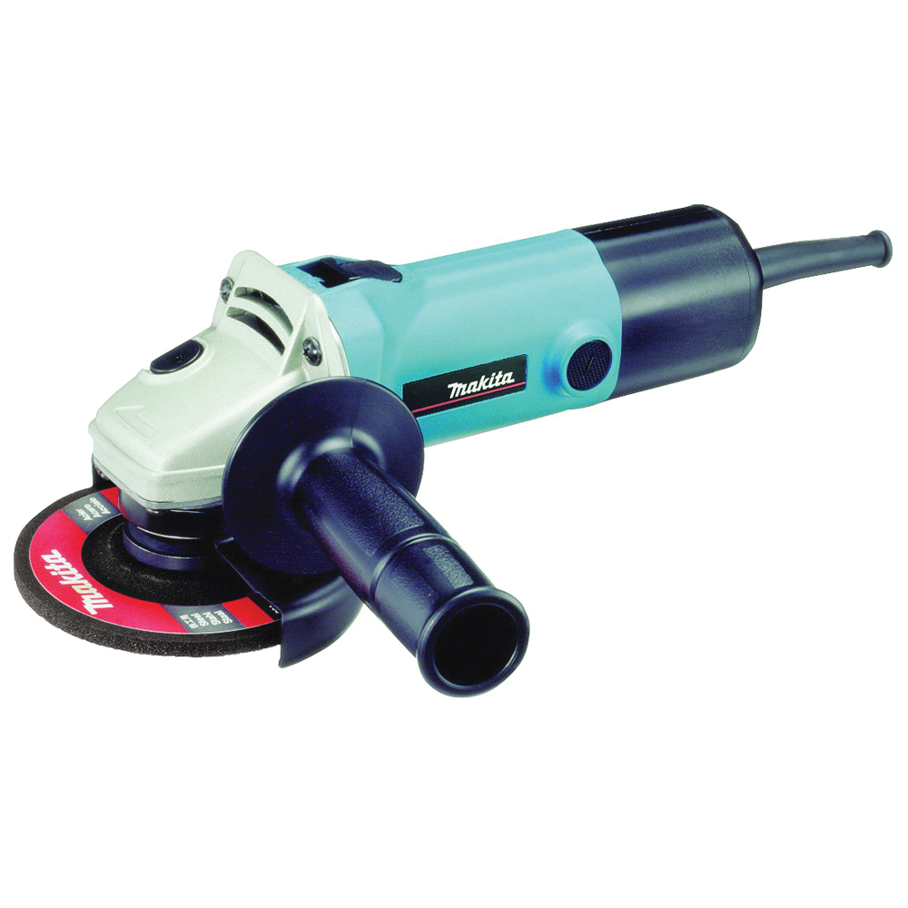 Picture of Makita 9557NB Angle Grinder, 120 V, 7.5 A, 4-1/2 in Dia Wheel, 11000 rpm Speed
