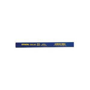 Picture of IRWIN 66305SL Carpenter Pencil, Blue, 7 in L, Wood Barrel