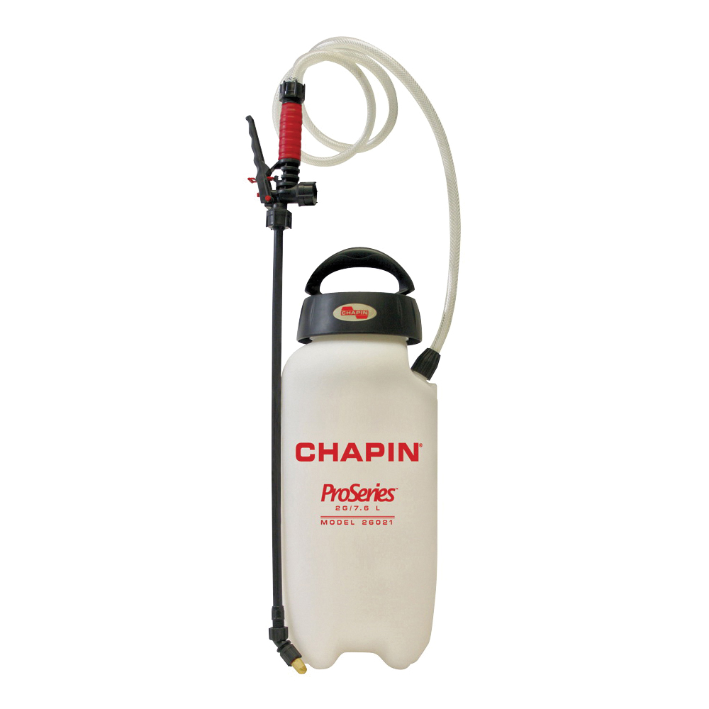 Picture of CHAPIN Pro Series 26021XP Compression Sprayer, 2 gal Tank, Poly Tank, 48 in L Hose