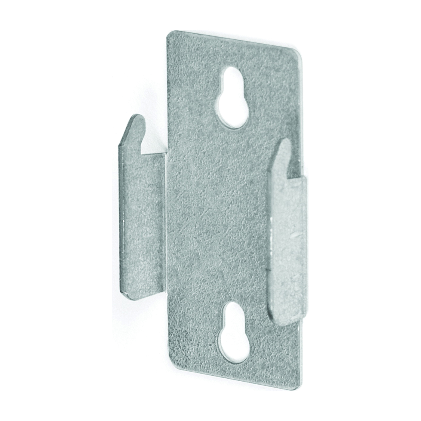 Picture of Kenney KN852 Curtain Rod Bracket, Double, Zinc, Silver, Nail Mounting, 2