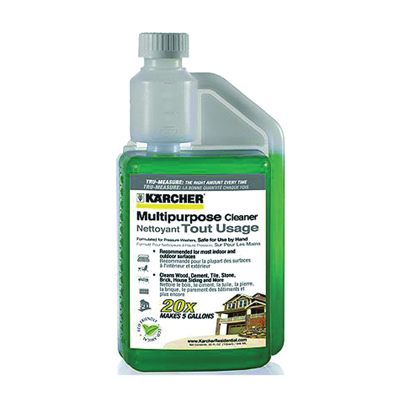 Picture of Karcher 9.558-145.0/120.0 Pressure Washer Detergent, Liquid, Surfactant, 1 qt Package