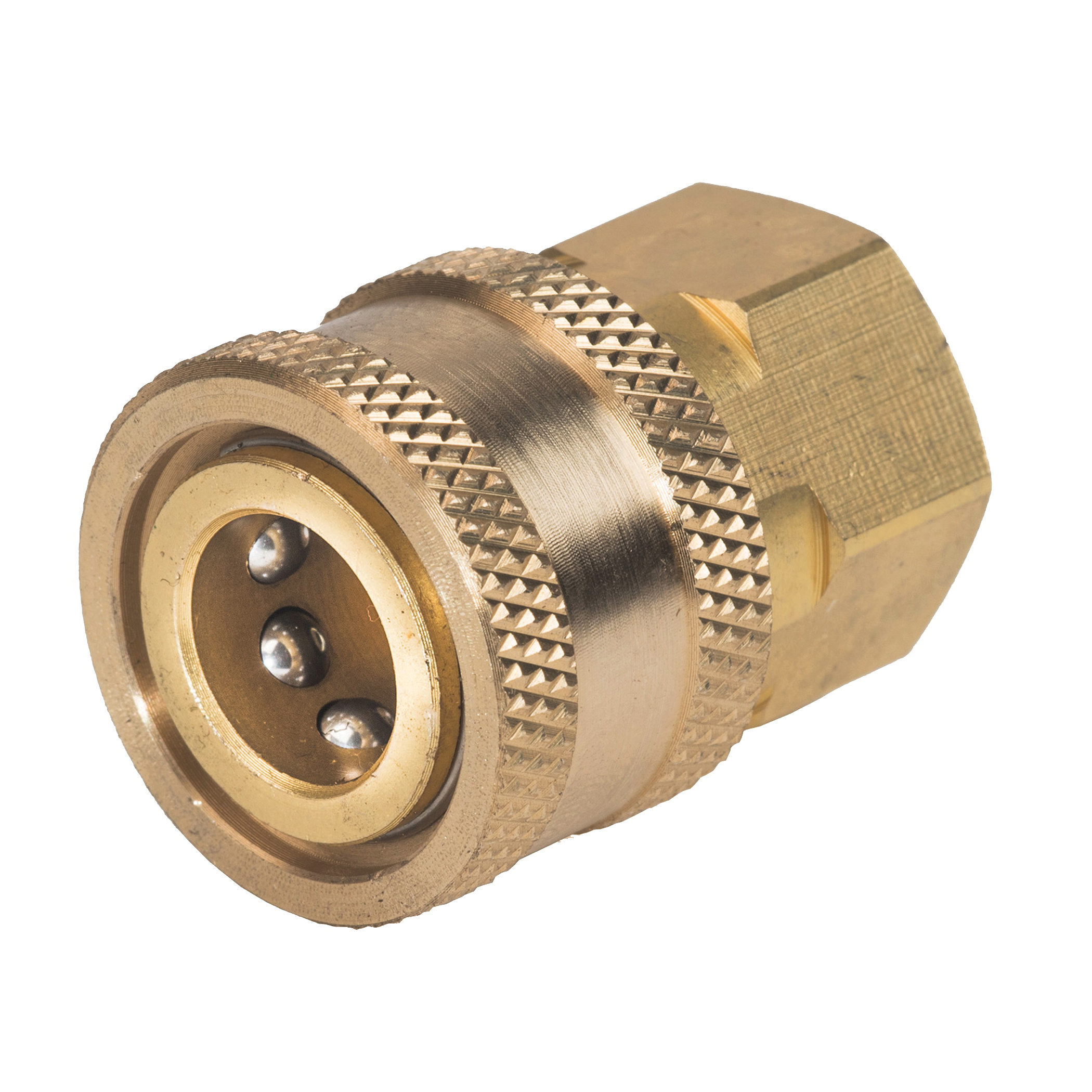 Picture of Karcher 8.641-135.0 Coupler Socket, 3/8 in x M22 Connection, QD x FPT