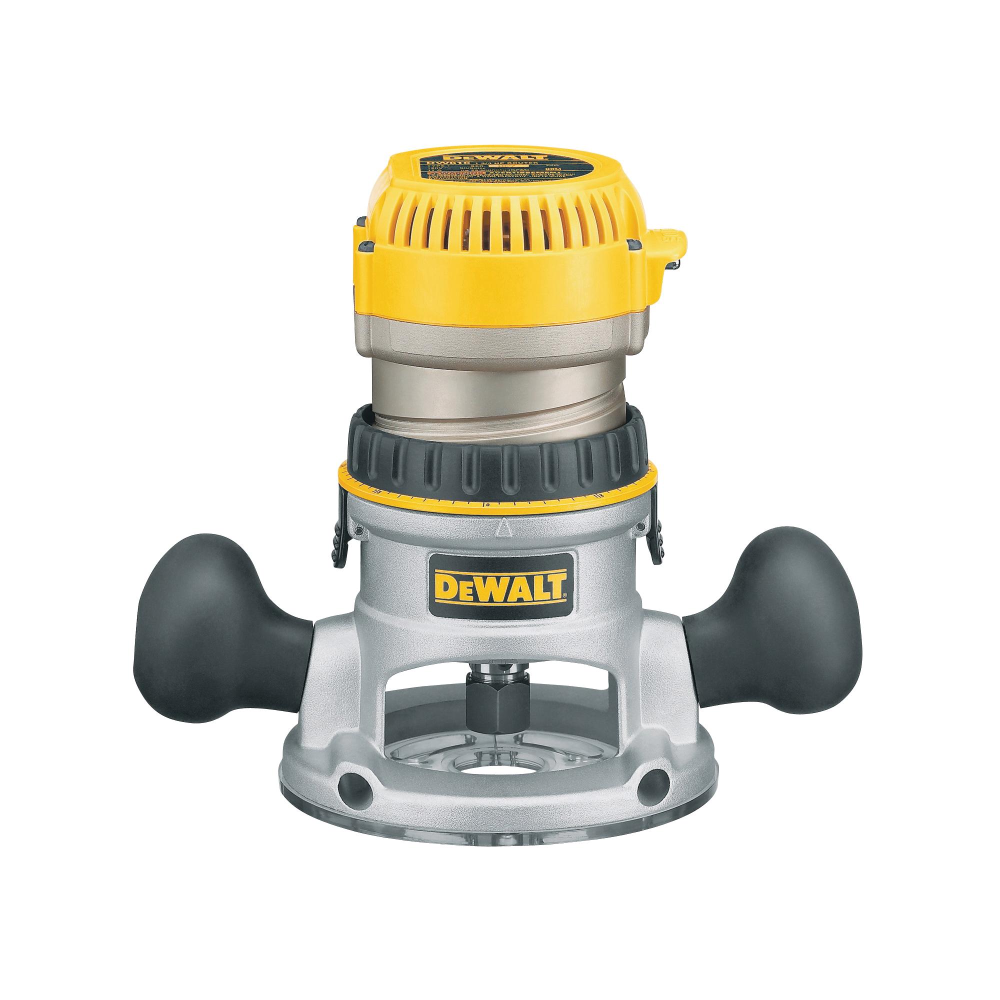 Picture of DeWALT DW616 Router, 120 V, 11 A, 24500 rpm No Load