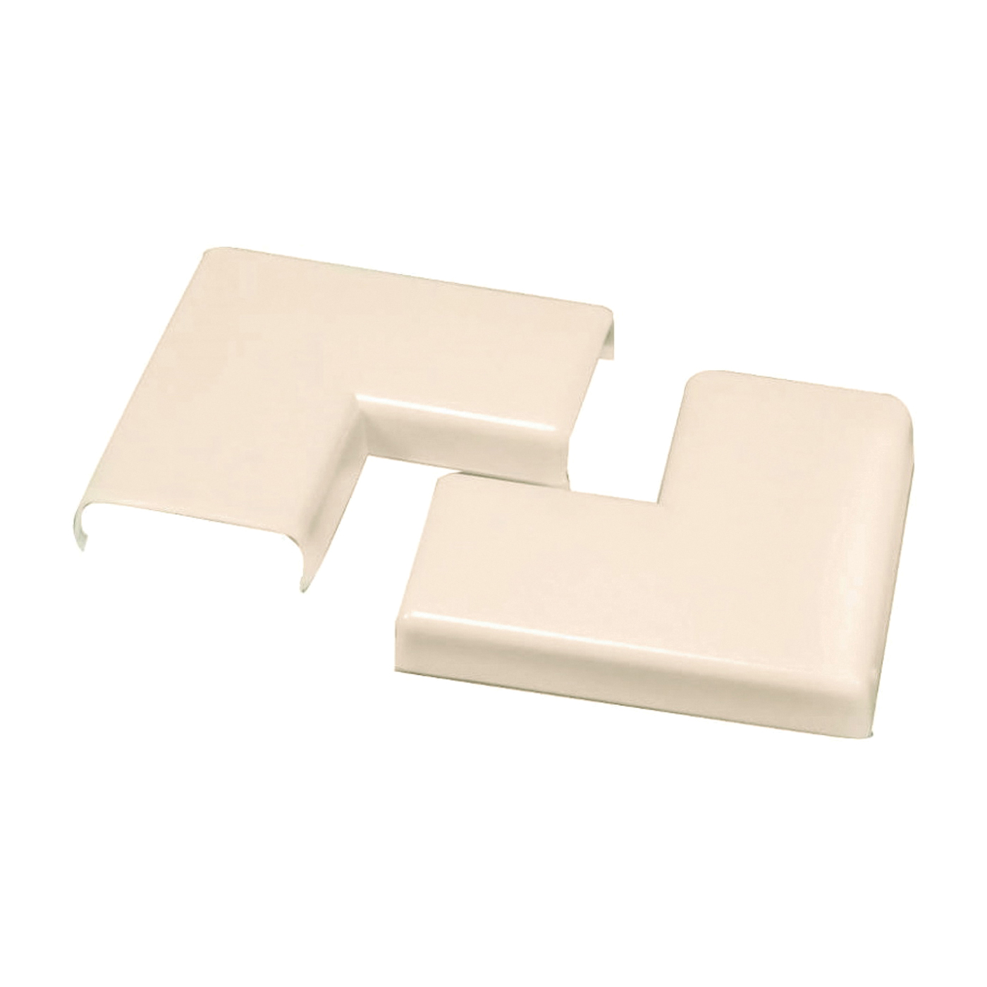 Picture of Legrand Wiremold NM6 Raceway Elbow, Flat, Non-Metallic, Plastic, Ivory
