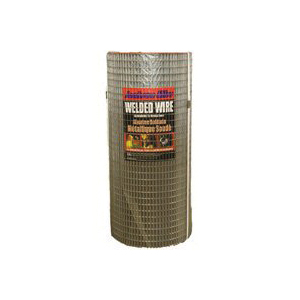 Picture of Jackson Wire 10 08 39 14 Welded Wire Fence, 100 ft L, 48 in H, 1/2 x 1 in Mesh, 16 Gauge, Galvanized