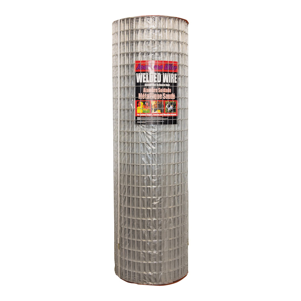 Picture of Jackson Wire 10 04 39 14 Welded Wire Fence, 100 ft L, 48 in H, 1 x 2 in Mesh, 14 Gauge, Galvanized
