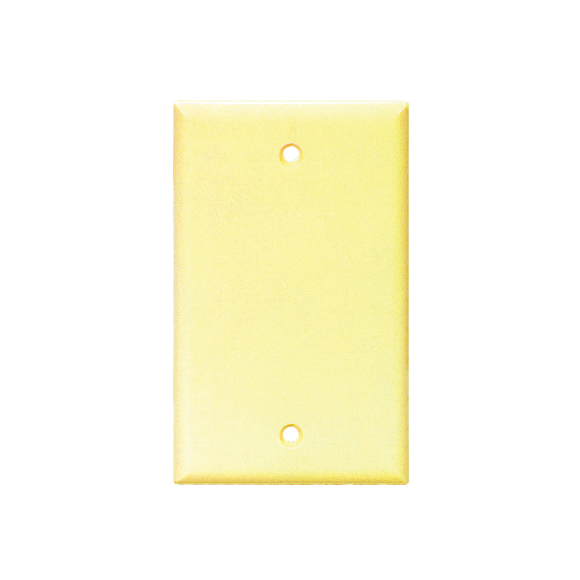 Picture of Eaton Cooper Wiring 2129 Series 2129V-BOX Wallplate, 4-1/2 in L, 2-3/4 in W, 0.08 in Thick, 1-Gang, Thermoset