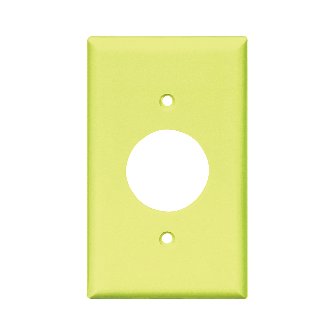 Picture of Eaton Wiring Devices 2131V-BOX Single Receptacle Wallplate, 4-1/2 in L, 2-3/4 in W, 1-Gang, Thermoset, Ivory