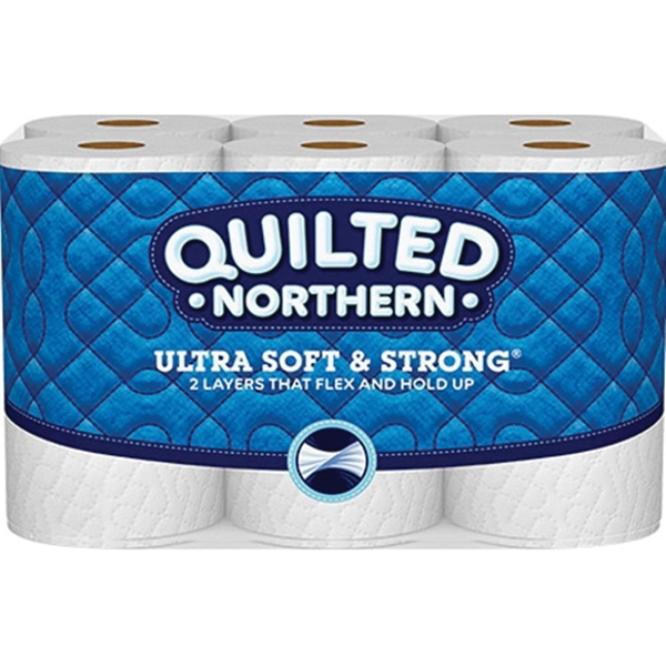 Picture of Quilted Northern 94429 Bathroom Tissue, 2 -Ply, Paper