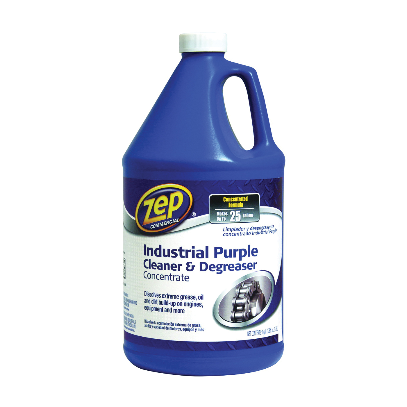 Picture of Zep ZU0856128 Cleaner/Degreaser, 1 gal Package, Bottle, Liquid, Mild Ethereal