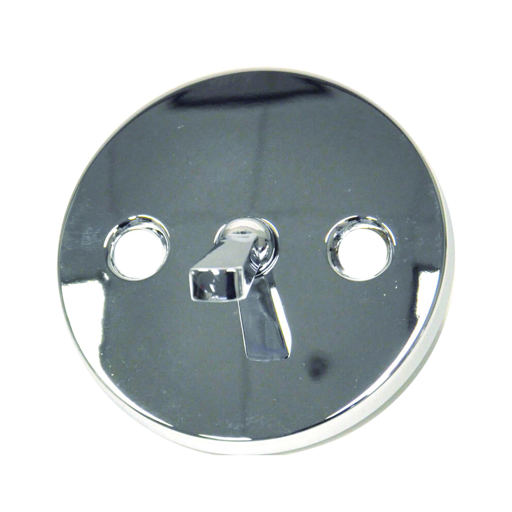 Picture of Danco 88975 Overflow Plate, Metal, Chrome, For: Existing Bathtub Fixtures