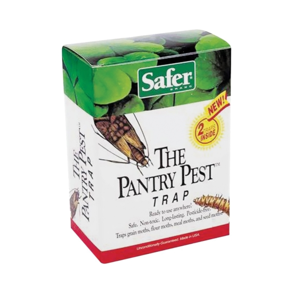Picture of Safer 05140 Pest Trap Box, Solid, Mild Fruity, Box