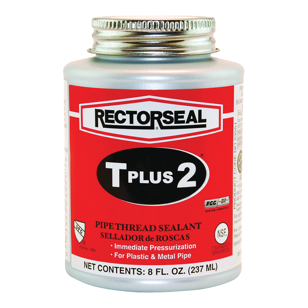 Picture of RECTORSEAL T Plus 2 23551 Thread Sealant, 0.5 pt, Can, Paste, White