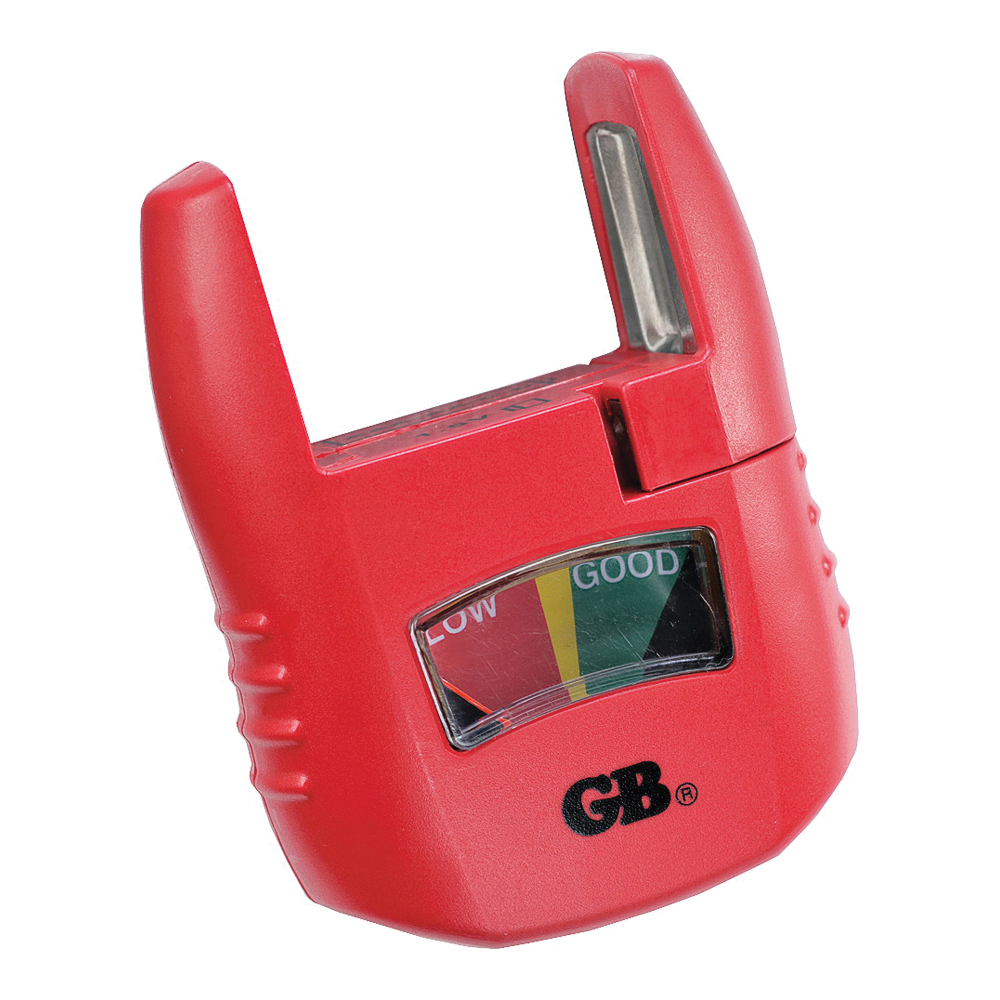 Picture of GB GBT-3502 Battery Tester, Analog Display, Red