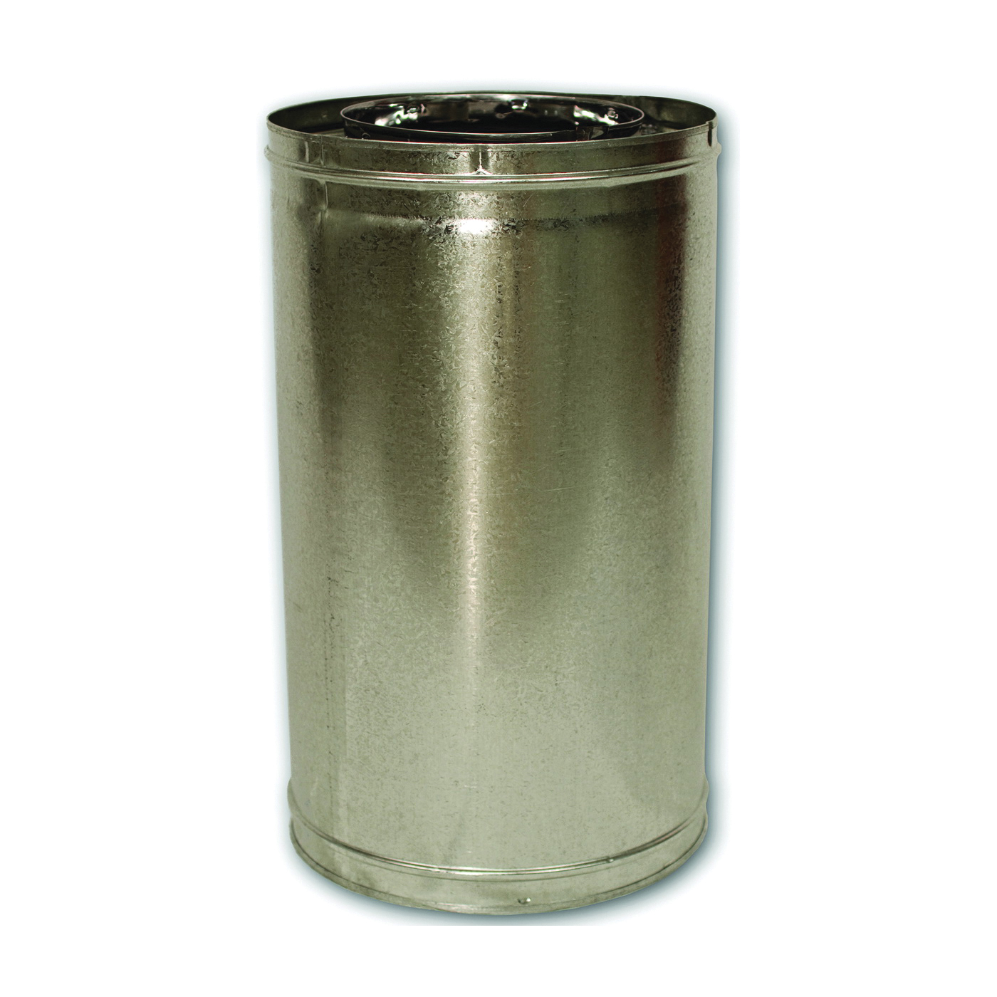 Picture of Comfort Flame 18-8DM Chimney Pipe, 12-3/8 in OD, 18 in L, Galvanized Steel