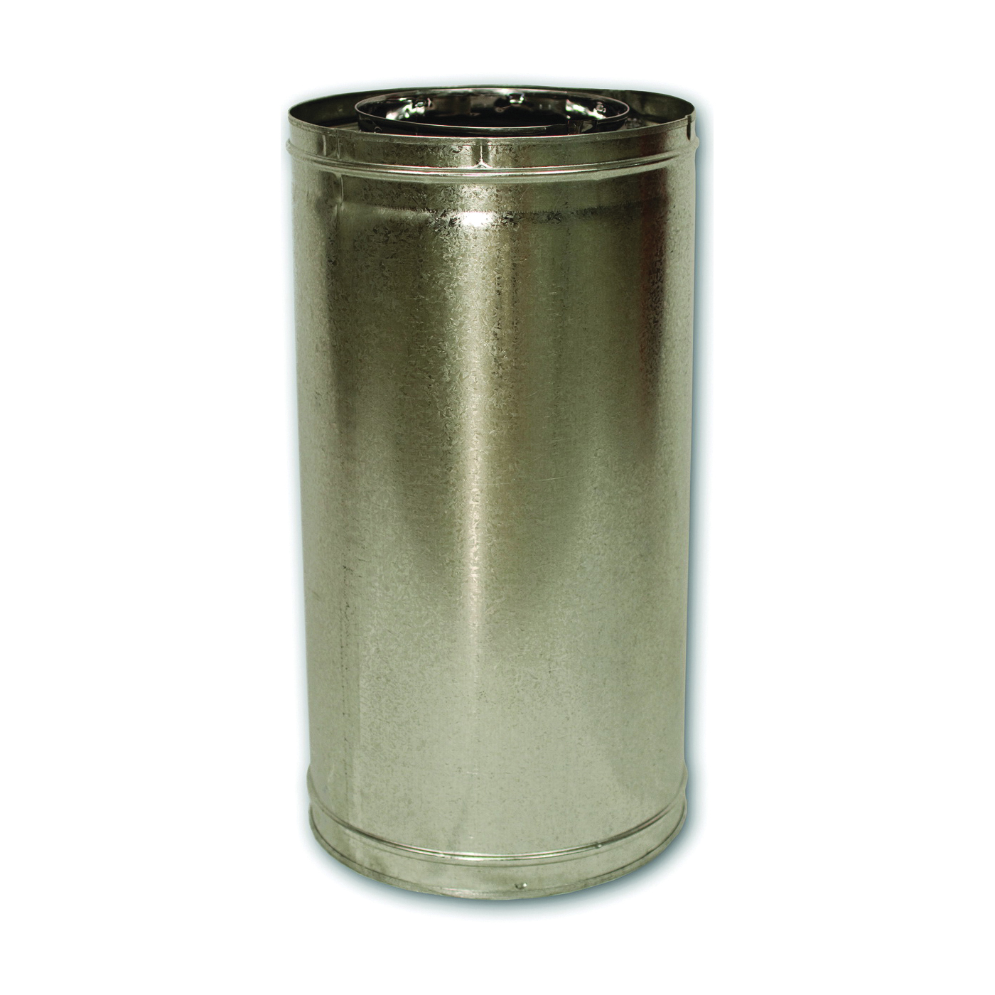 Picture of Comfort Flame 24-8DM Chimney Pipe, 12-3/8 in OD, 24 in L, Galvanized Steel