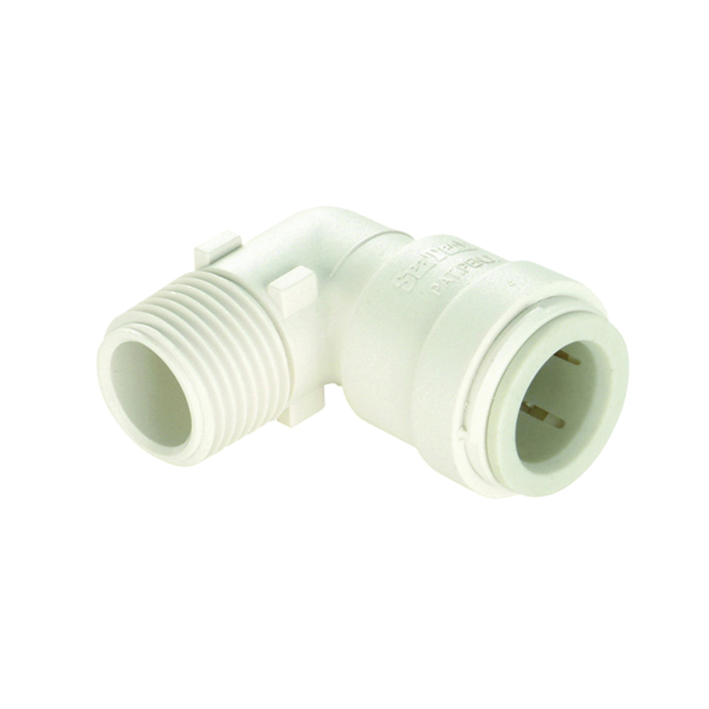 Picture of Watts 3519B-1816 Elbow, 1 in, 1 in, 90 deg, Off-White