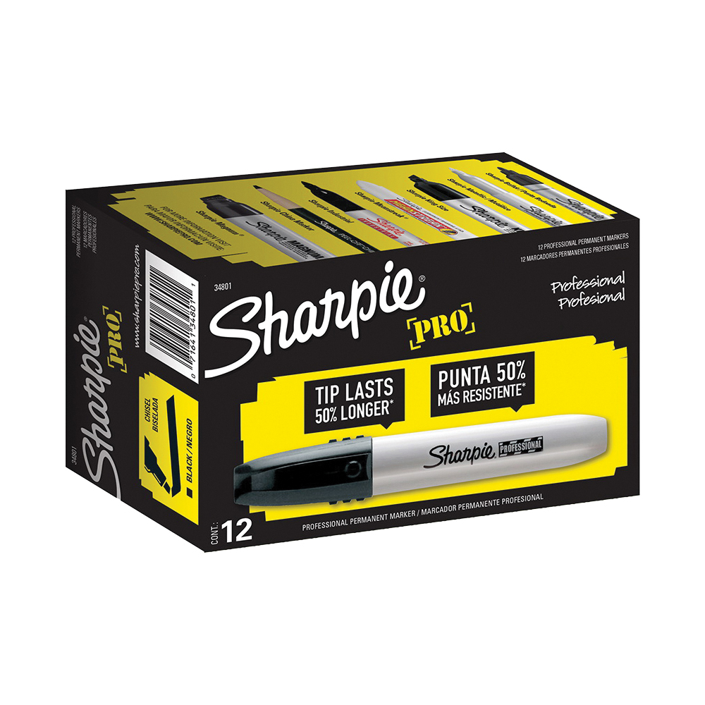 Picture of Sharpie 34801 Permanent Marker, Black