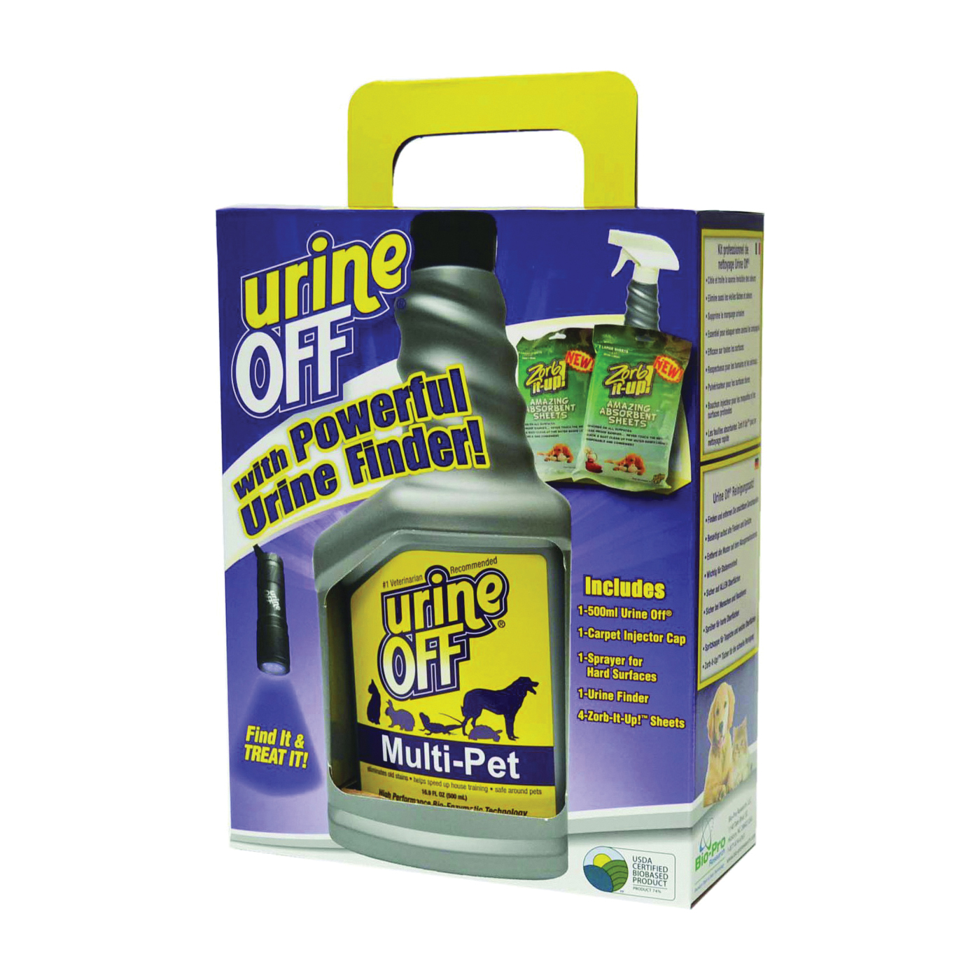 Picture of urine OFF MR1115 Pet Sprayer, 16.9 oz Package