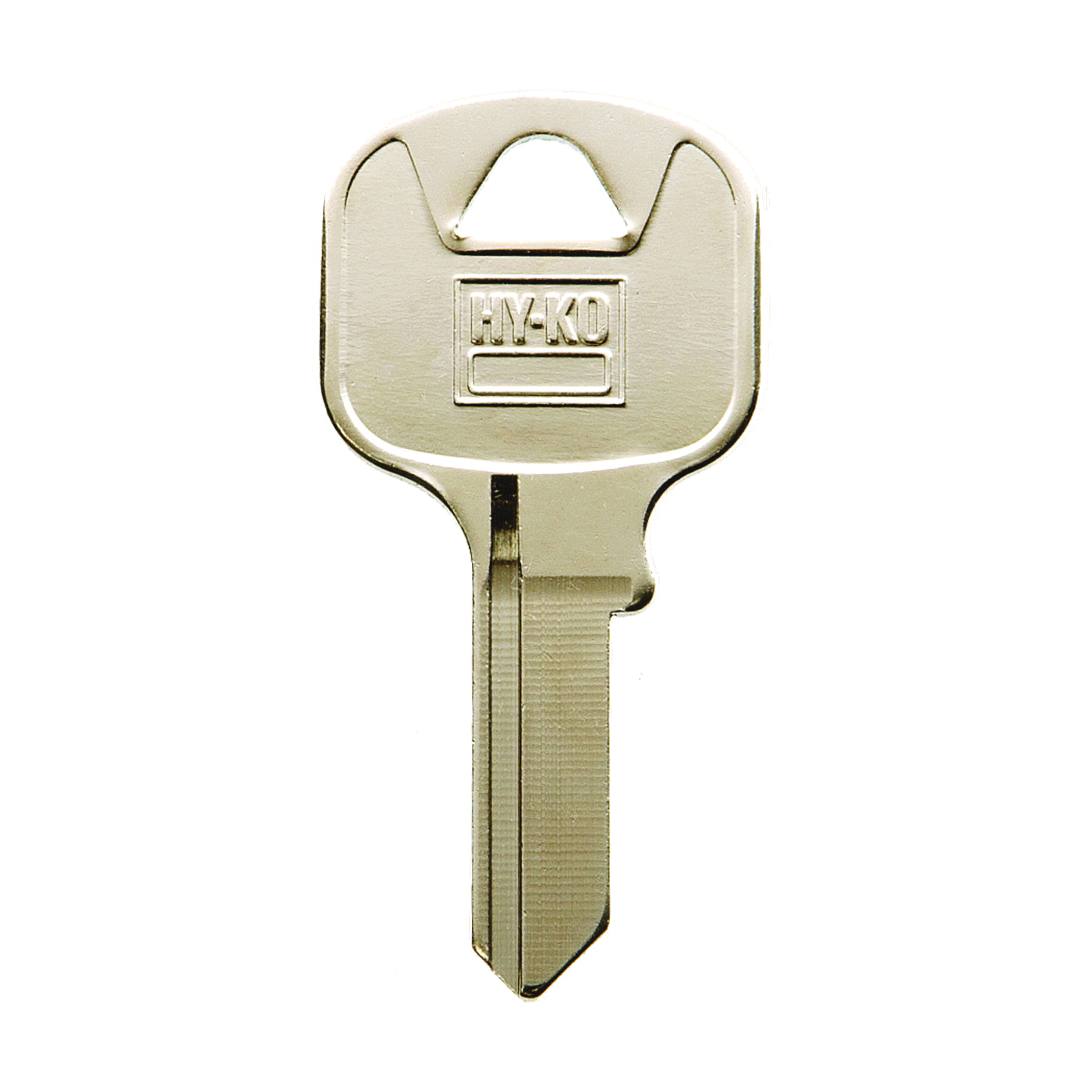 Picture of HY-KO 11010AB13 Key Blank, Brass, Nickel, For: Abus Cabinet, House Locks and Padlocks