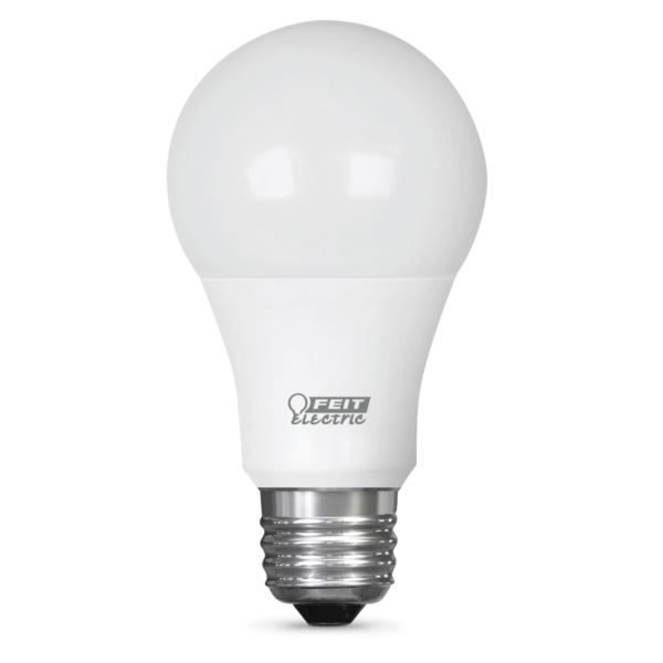Picture of Feit Electric A800/3DIM/LEDI LED Bulb, 9 W, E26 Medium Lamp Base, A19 Lamp, Soft White Light, 800 Lumens