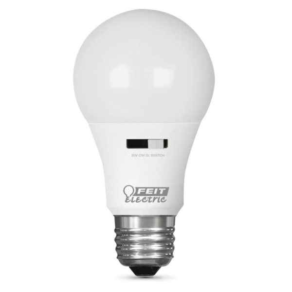 Picture of Feit Electric A800/CCT/LEDI LED Bulb, 9.5 W, E26 Lamp Base, A19 Lamp, Cool White/Daylight/Soft White Light