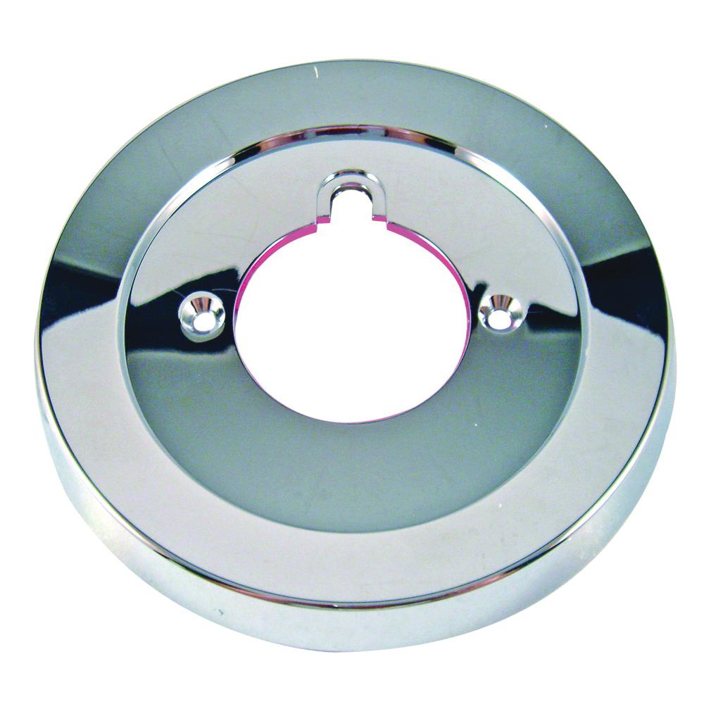 Picture of Danco 37627 Escutcheon, 5-3/4 in Dia, Plastic, Chrome, For: Tub/Shower Faucets