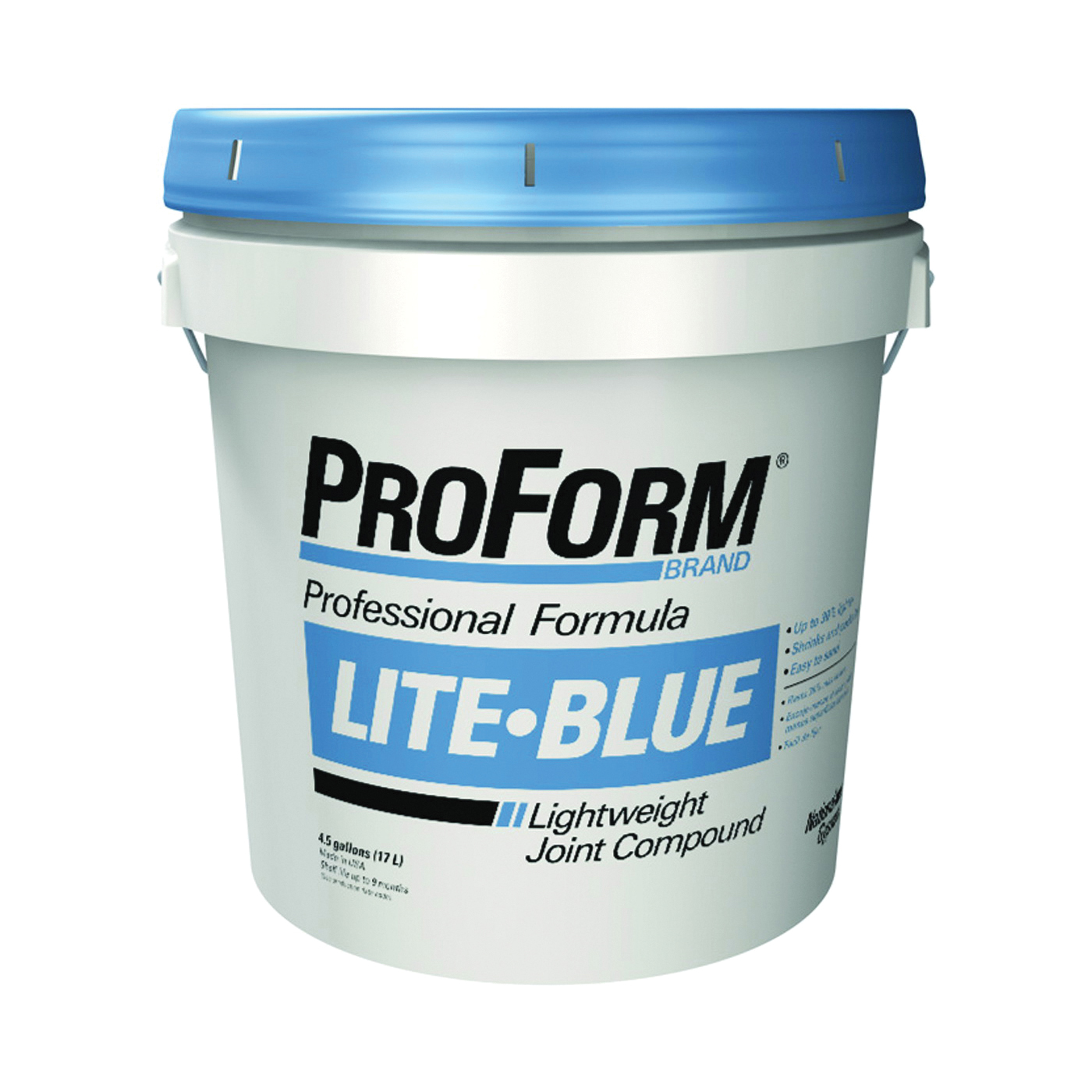 Picture of Proform JT0083 Joint Compound, Paste, Gray, 4.5 gal Package, Pail