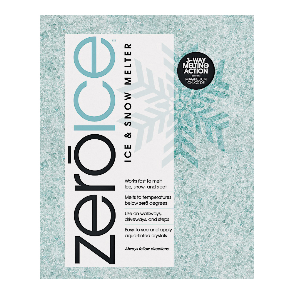Picture of HJ Zero Ice 9583 Ice Melter, Granular, Aqua/White, 20 lb Package, Bag