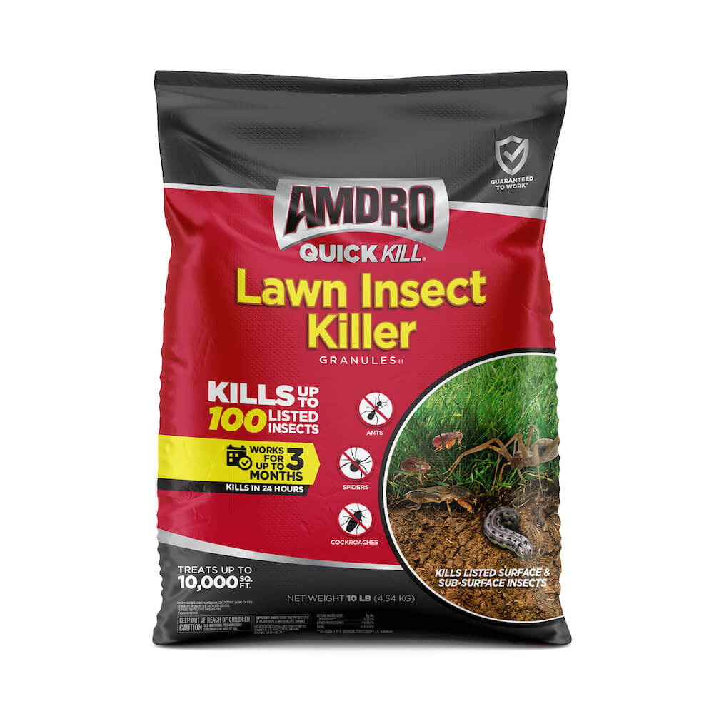 Picture of Amdro QUICK KILL 100527079 Lawn Insect Killer, 10 lb Package, Bag