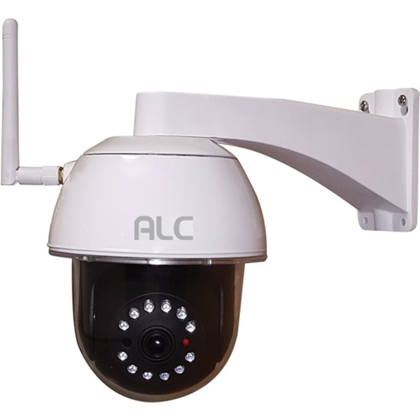 Picture of ALC AWF53 Wi-Fi Camera, 90 deg View, 1080 pixel Resolution, Night Vision: 35 ft, White, Wall Mounting