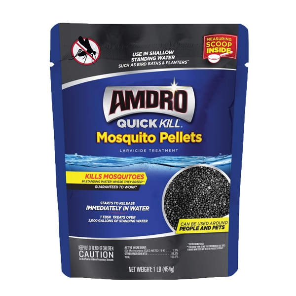 Picture of Amdro Quick Kill 100530551 Mosquito Killer, Pellets, 1 lb Package
