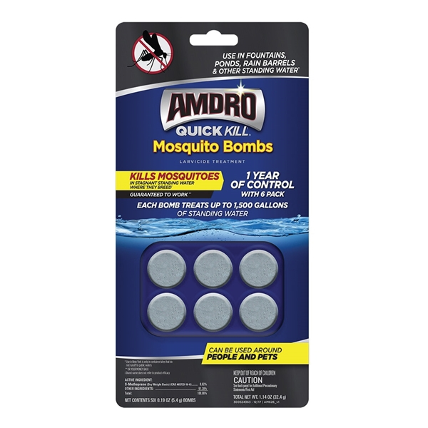 Picture of Amdro Quick Kill 100530552 Mosquito Bomb, Solid