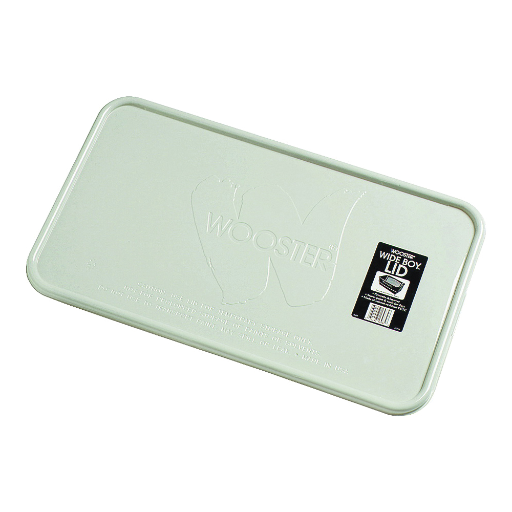 Picture of WOOSTER 8624 Bucket Lid, Plastic, Clear