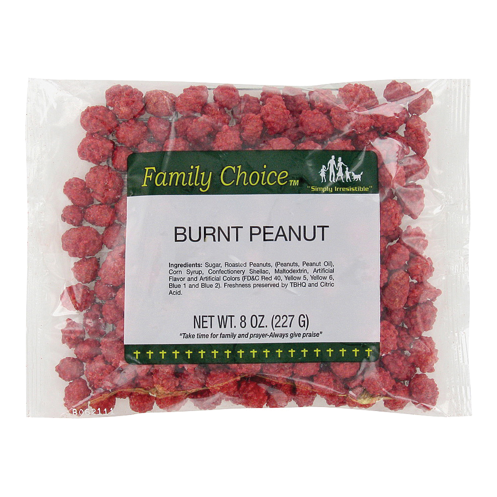 Picture of Family Choice 1132 Burnt Peanut, 7.5 oz Package