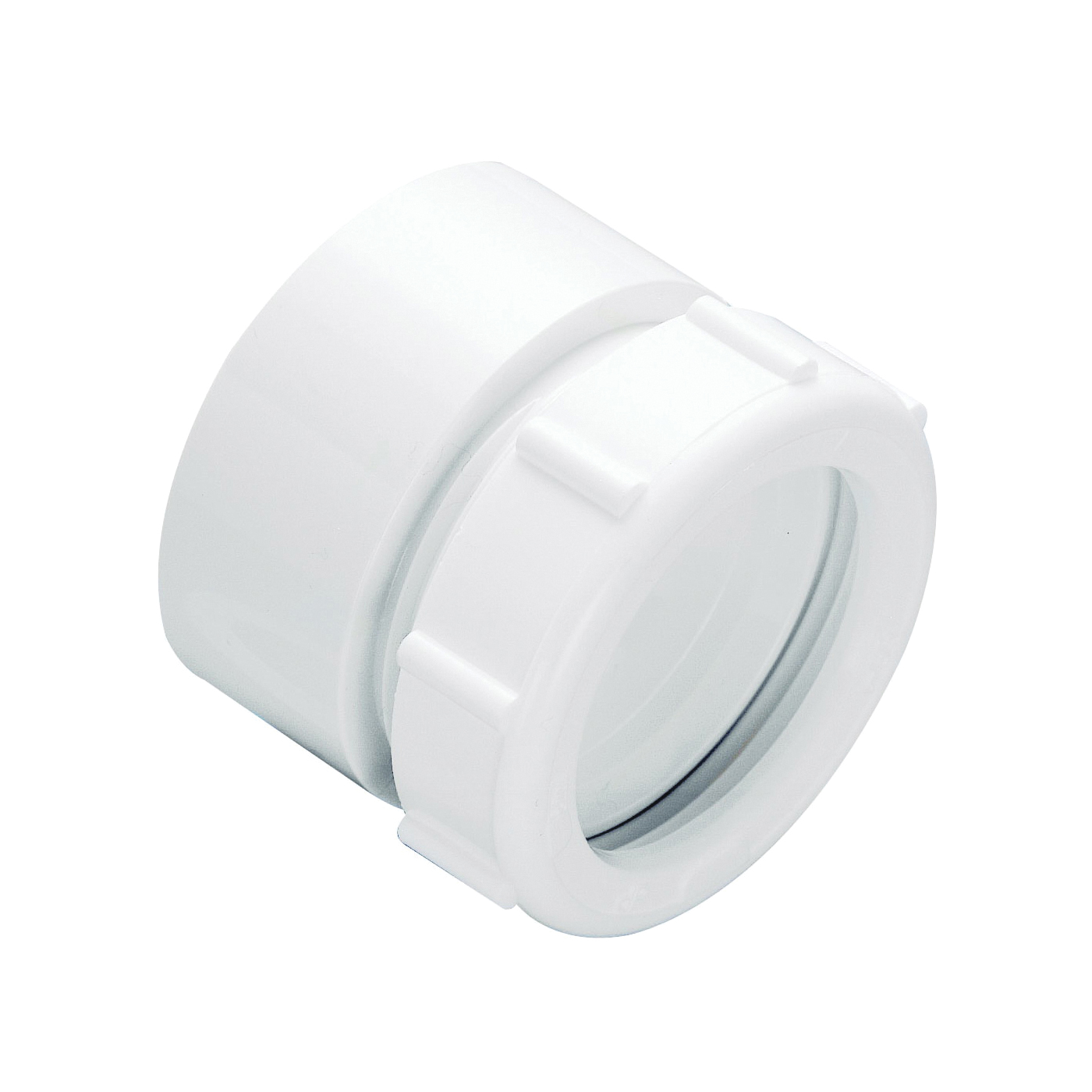 Picture of Plumb Pak PP999W Marvel Connector, 1-1/2 in Compression, 1-1/2 in Compression, White