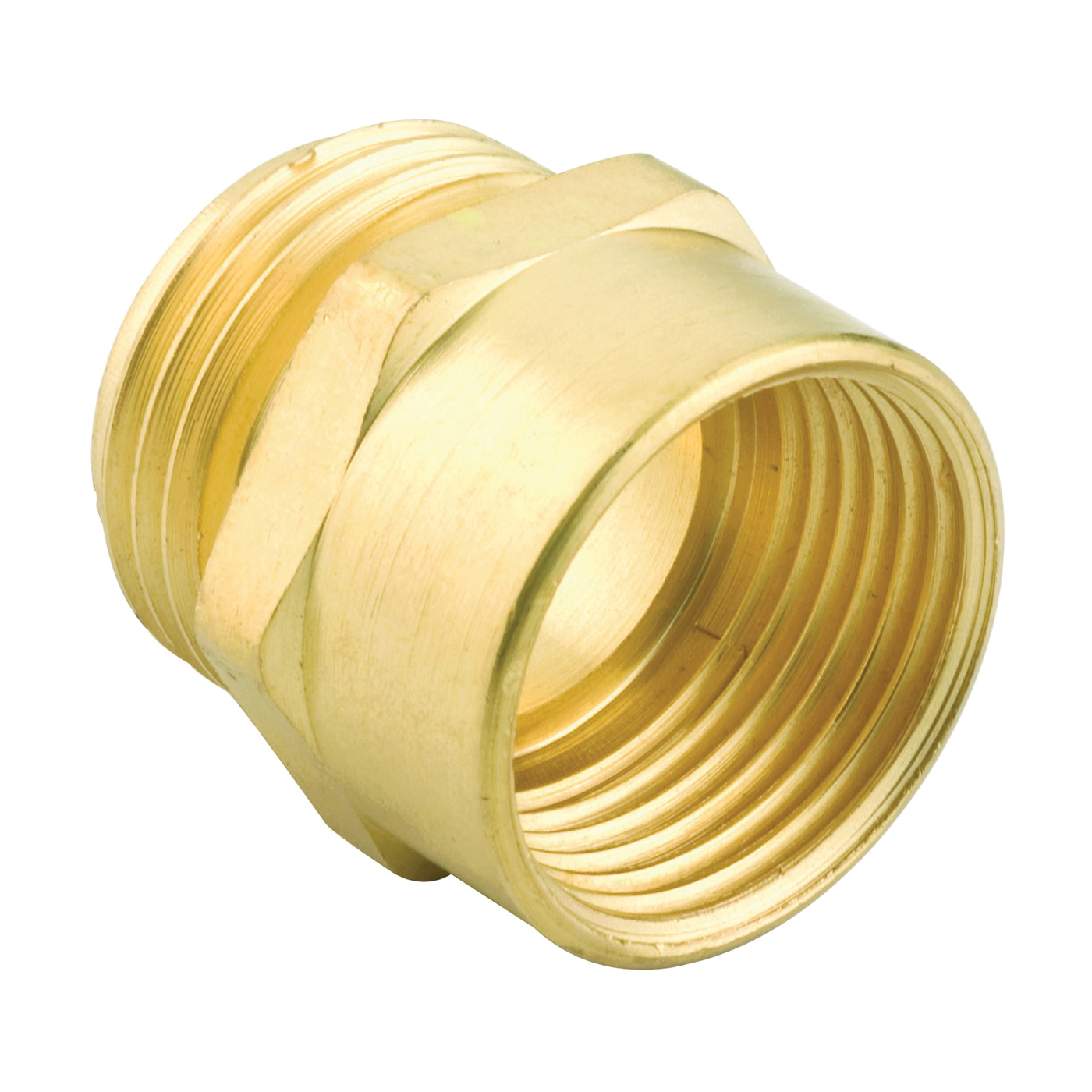Picture of Gilmour 807704-1001 Hose Adapter, 3/4 x 3/4 in, MNH x FNPT, Brass, For: Garden Hose