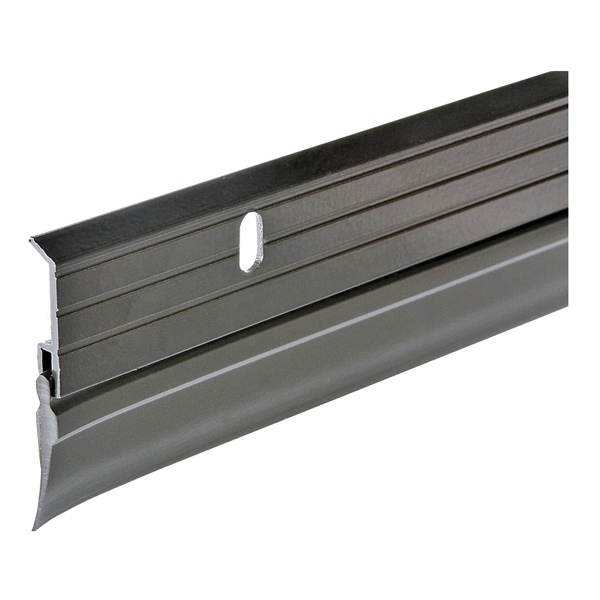 Picture of Frost King B59/36H Door Sweep, 36 in L, 1-5/8 in W, Aluminum Flange, Vinyl Insert