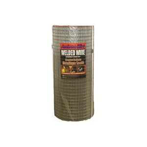 Picture of Jackson Wire 10 10 38 14 Welded Wire Fence, 100 ft L, 36 in H, 1 x 1 in Mesh, 16 Gauge, Galvanized