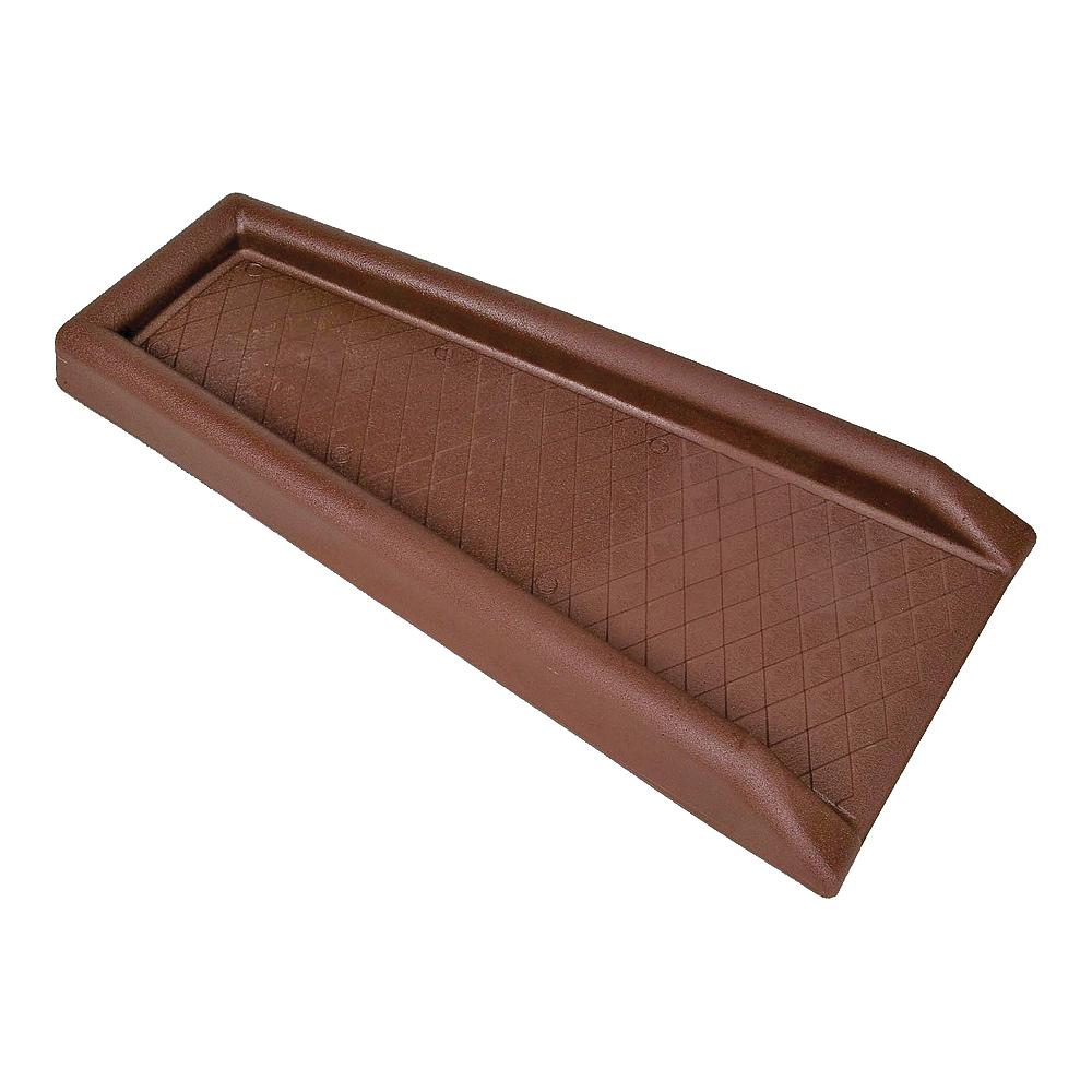 Picture of Amerimax 3001-12 Splash Block, 24 in L, 11-1/2 in W, Steel, Brown