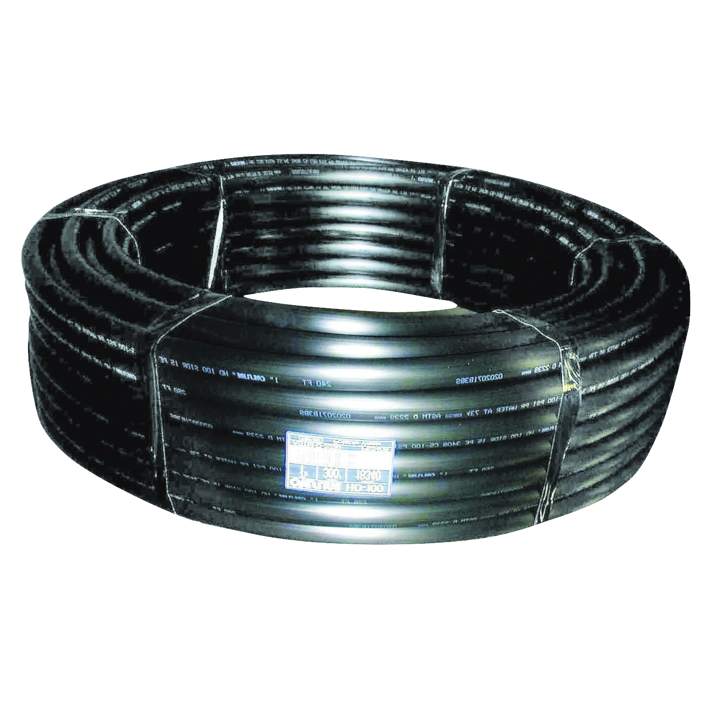 Picture of CRESLINE 18115 Pipe, 1 in, Plastic, Black, 100 ft L