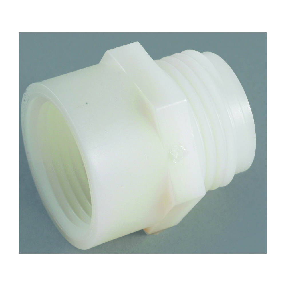 Picture of Anderson Metals 53780-1212 Hose Adapter, 3/4 x 3/4 in, MGH x FGH, Nylon, For: Garden Hose