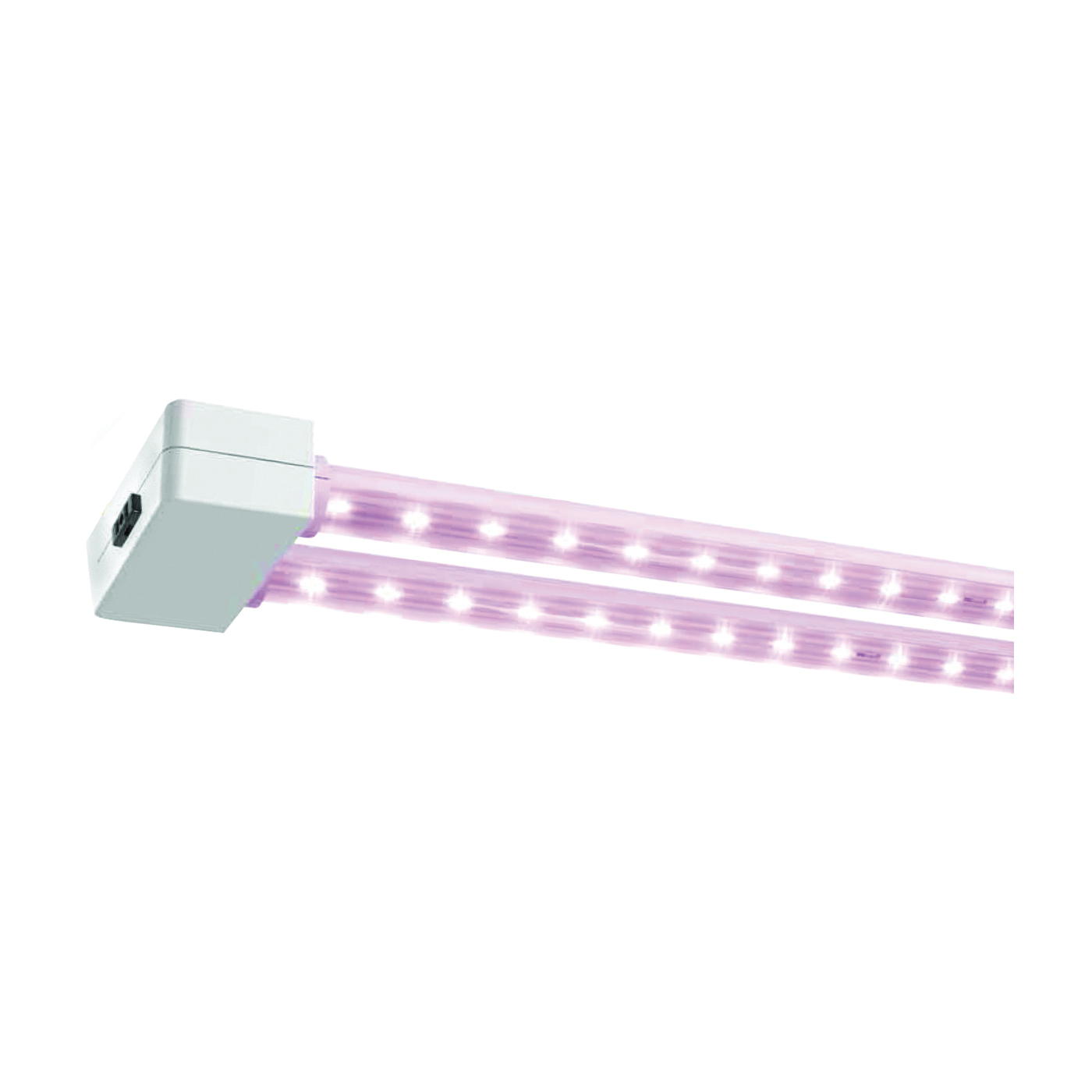 Picture of Feit Electric 74303 LED Grow Light, 120 V, 2 -Lamp, LED Lamp, 1100 K Color Temp, Red