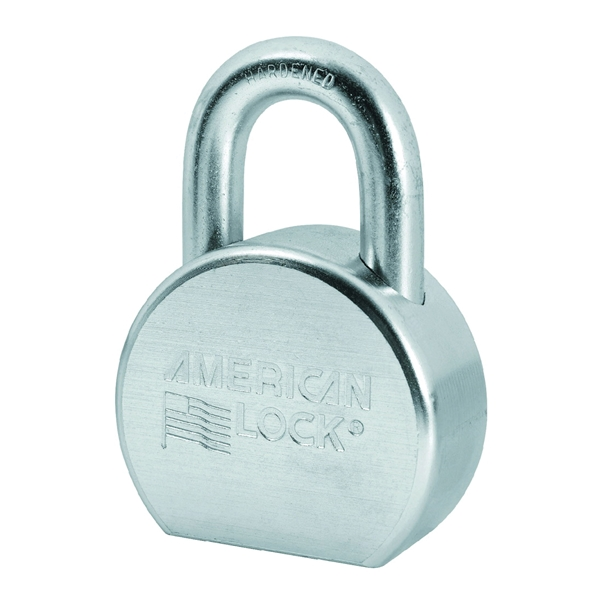 Picture of American Lock A702KA#35852 Padlock, Keyed Alike Key, 7/16 in Dia Shackle, 1-1/16 in H Shackle, Boron Steel Shackle